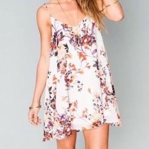 Bloombalaya print floral flowy dress